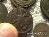 Чистка и патинирование медных монет www.kladtv.ru