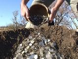 Клад серебряных монет 1857 штук найден металлоискателем X-Terra www.kladtv.ru