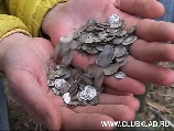 Клад монет (чешуйки) времен правления Ивана Грозного найден на слете московских кладоискателей в селе Бобырево в апреле 2007 года.