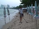 """Фильм """"Пляжный поиск в Тайланде, город Паттая (Pattaya). www.kladtv.ru"""